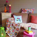 Casas con encanto colorido estilo entre boho y escandinavo 3
