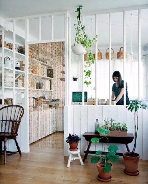 Los 25 rincones con plantas de interior más bellos de Pinterest 12
