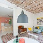 """Casas con encanto: reforma """"fuera tabiques"""" de un piso en Barcelona"""
