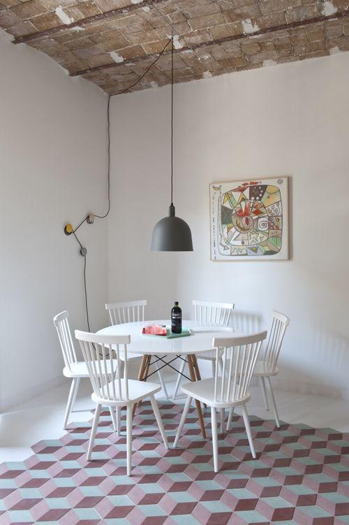 Casas con encanto reforma fuera tabiques de un piso en Barcelona 9