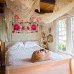 Los 25 dormitorios de estilo boho chic más bellos de Pinterest 13