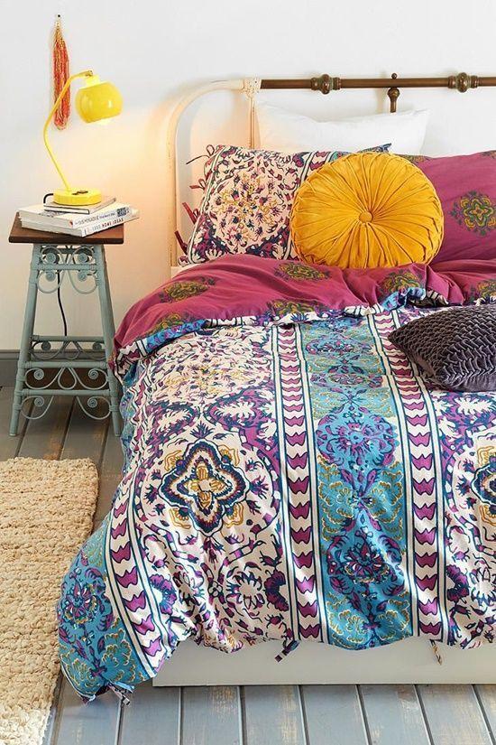 Los 25 dormitorios de estilo boho chic más bellos de Pinterest 22