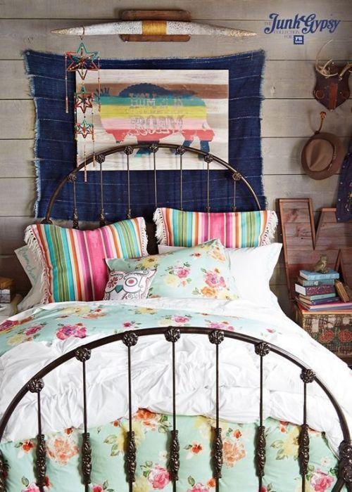 Los 25 dormitorios de estilo boho chic más bellos de Pinterest 6