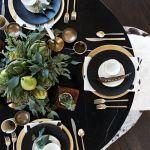 15 Ideas de decoración eco-chic para mesas de Navidad15