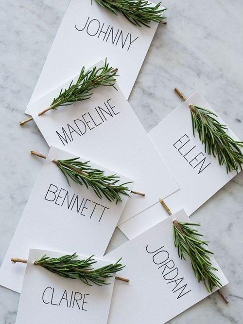 15 Ideas de decoración eco-chic para mesas de Navidad 2