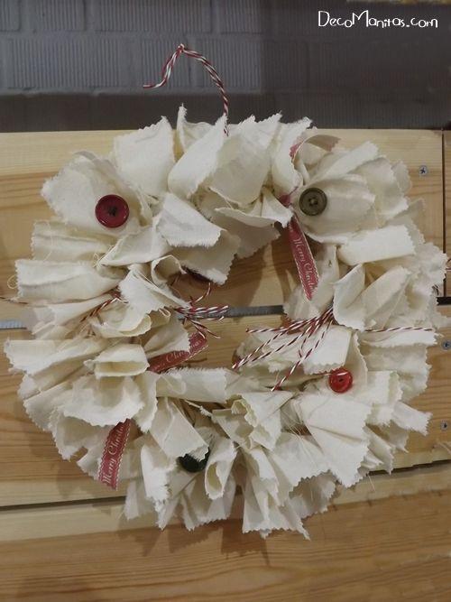 Manualidades navideñas cómo hacer una corona de Adviento DIY 10