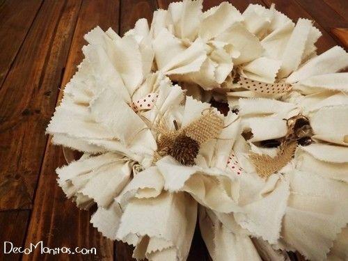 Manualidades navideñas cómo hacer una corona de Adviento DIY 9