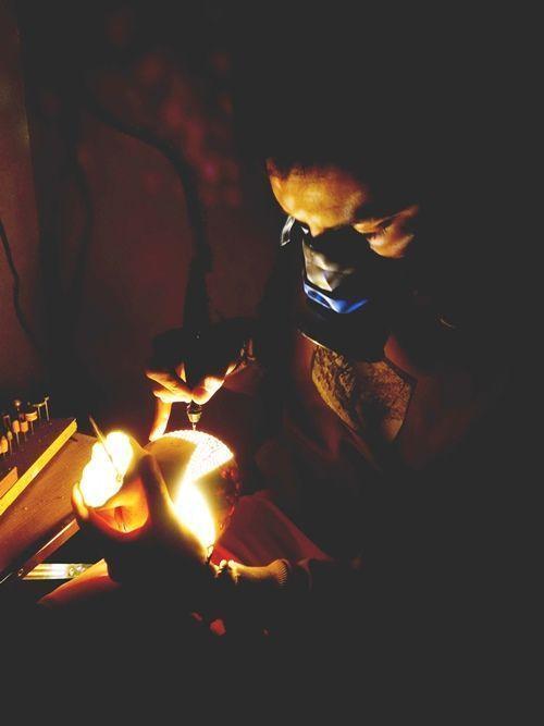 Artesanía con calabazas lámparas originales llenas de misterio 3