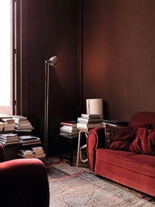 Colores para paredes intensos, y pintar la casa con drama... 8