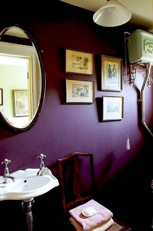 Colores para paredes intensos o ser audaz y pintar la casa con drama16