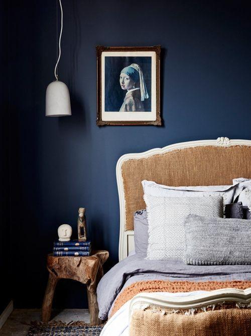 Colores para paredes intensos, y pintar la casa con drama... 13