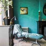 Colores para paredes intensos o ser audaz y pintar la casa con drama7