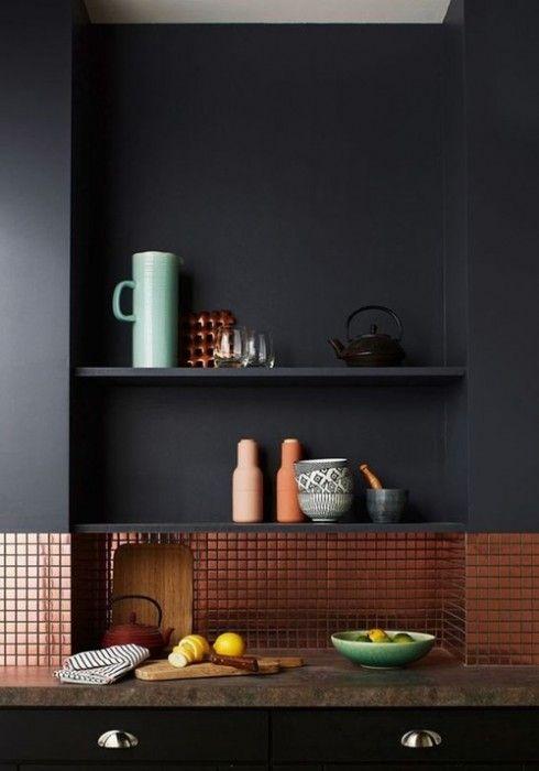 Colores para paredes intensos, y pintar la casa con drama... 9