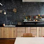 Pintar paredes de pizarra acuarela, empapelar con trampantojos qué idea 9