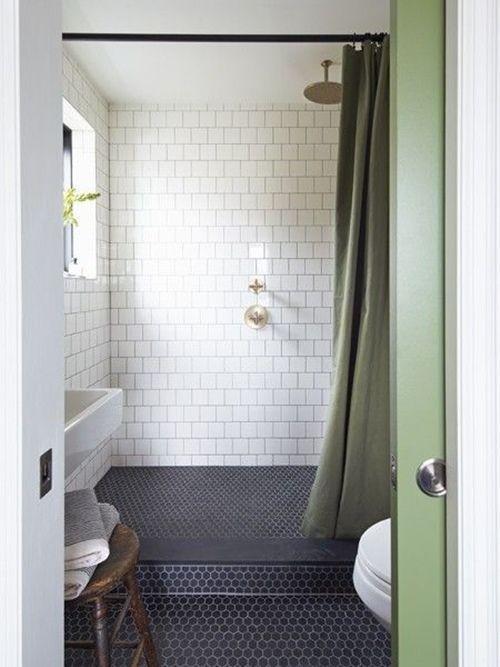 12 cuartos de baño con ducha de estilo vintage 11