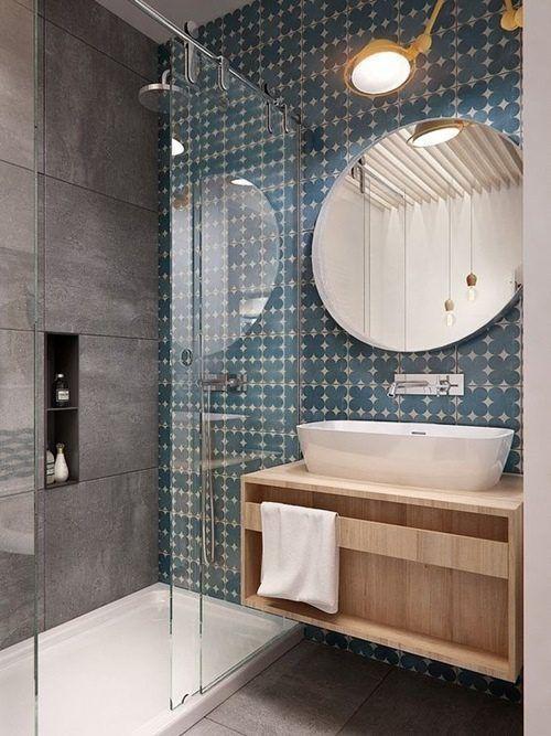 12 cuartos de ba o con ducha de estilo vintage que querr s for Cuartos de bano con ducha