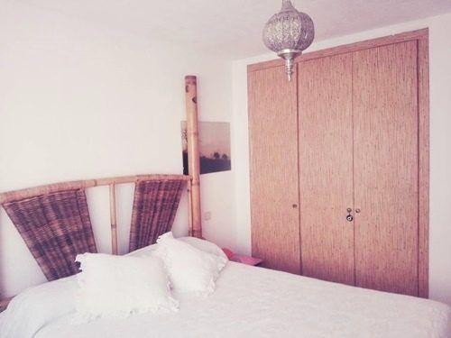 Casas con encanto piso pequeño con decoración boho chic singular 5