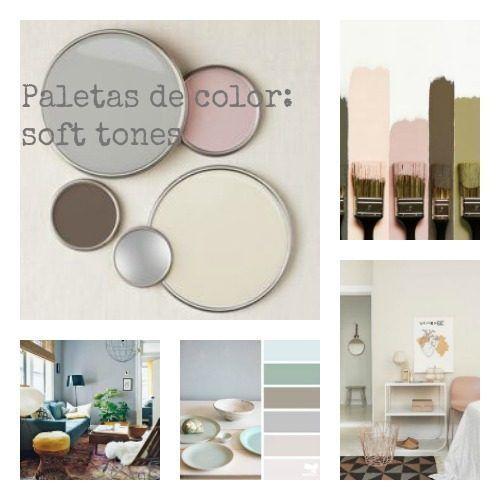 Colores para paredes c mo pintar un apartamento moderno decomanitas - Como pintar un cuadro moderno ...