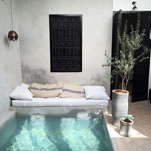 Casas con encanto decomanitas - Minipiscinas para terrazas ...