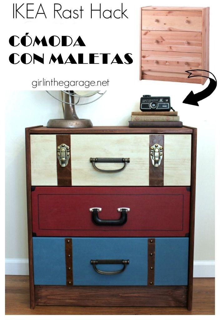 Tunear muebles de ikea decomanitas - Pintar muebles estilo vintage ...