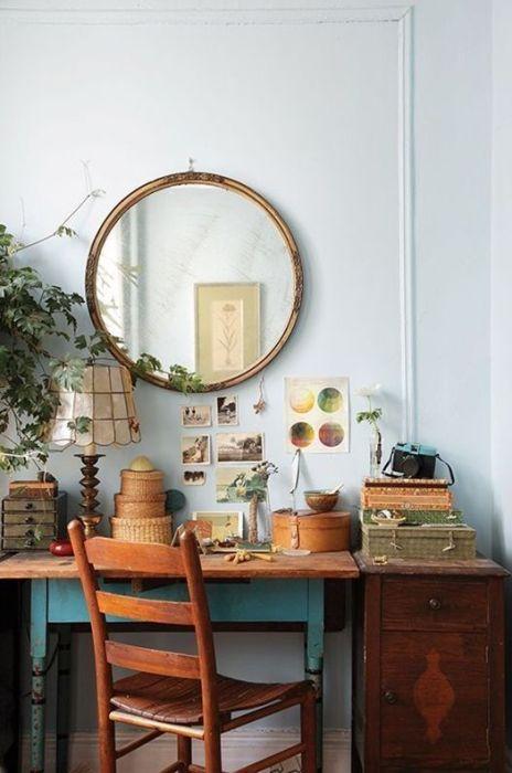 Decoracion vintage muebles con palets y reciclados ideas para decorar una casa y manualidades - Cosas de casa muebles ...