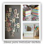 3 ideas para reciclar y decorar con cartón de cajas y envíos