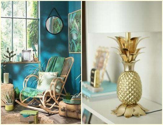 Ideas de decoraci n tropical para la casa prints pi as for Ideas para la casa