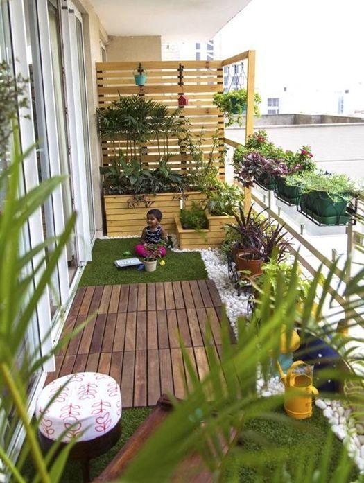 ideas para decorar terrazas y balcones con madera sofas de pales y