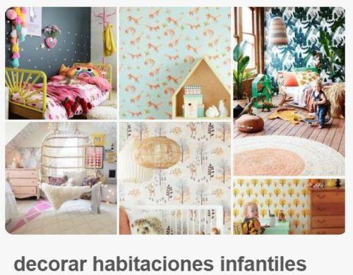 Ideas para decorar habitaciones infantiles originales con chispa y diy - Habitaciones infantiles originales ...