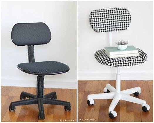 Decoracion vintage muebles con palets y reciclados ideas para decorar una casa y manualidades - Sillas para estudiar ...