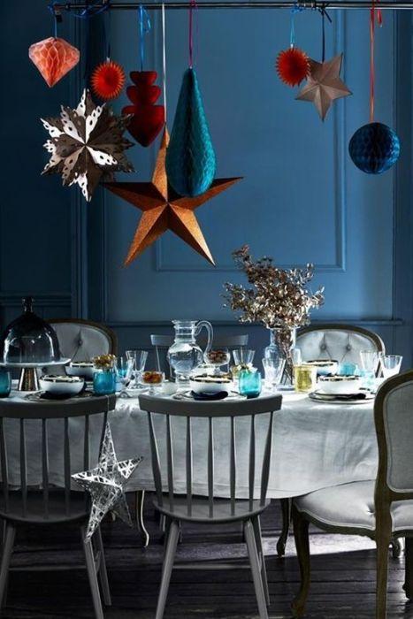 Decoracion vintage muebles con palets y reciclados ideas for Mesas decoradas para navidad