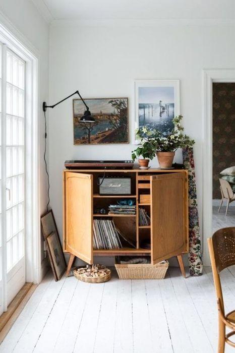 Ideas decoración salón: el rincón de la música.