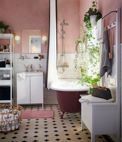 Ideas para decorar baños vintage con poco presupuesto.