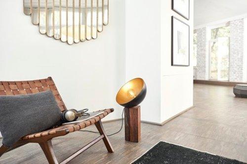Resultado: cómo hacer una lámpara vintage industrial para tu salón