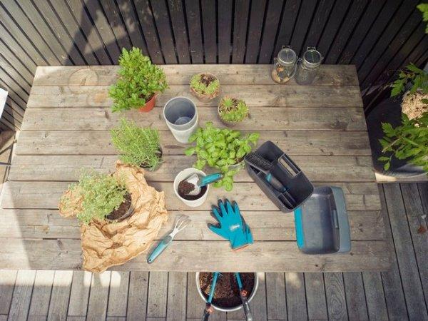 Qué se necesita para un jardín en macetas.