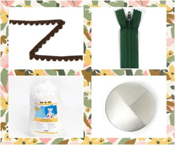 materiales para hacer un puf de exterior