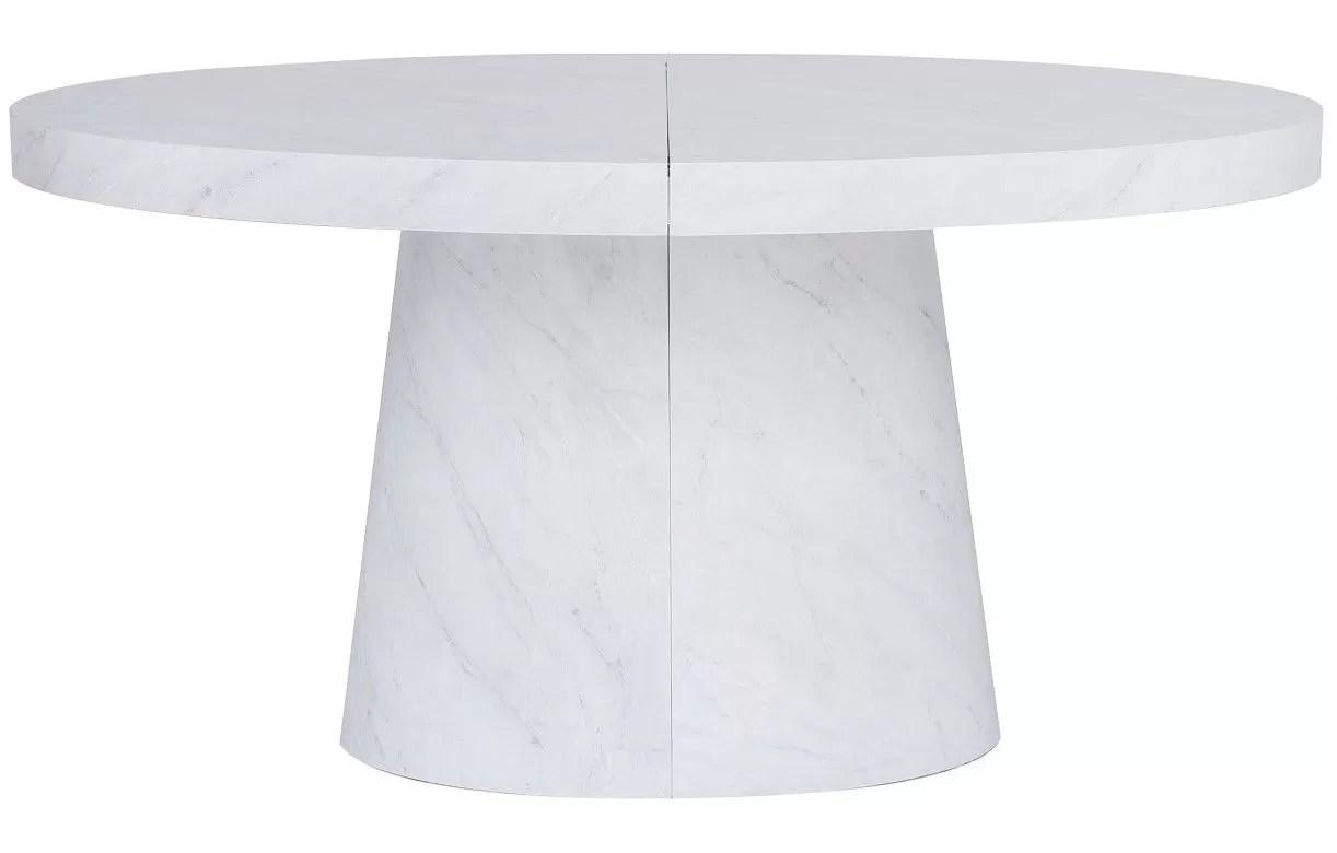 table ovale extensible 3 rallonges en
