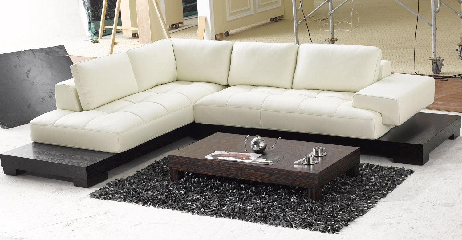 Sectional Lounge Chaise Leather