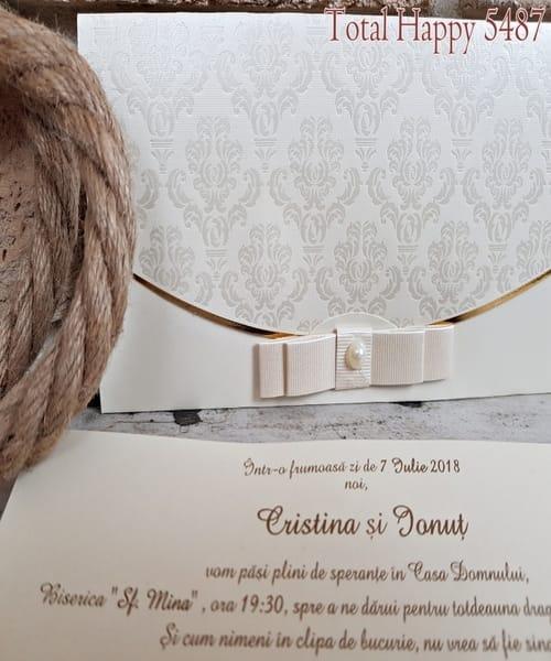 Invitatie de nunta cod 5487 din Catalogul Concept