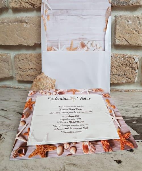 Invitatie de nunta cod 2750 din Catalogul Popular