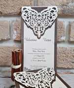 Invitatie de nunta cod 2760 din Catalogul Popular