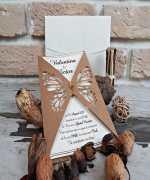 Invitatie de nunta cod 2767 din Catalogul Popular