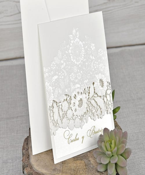 Invitatie de nunta cod 39321 din Catalogul Emma
