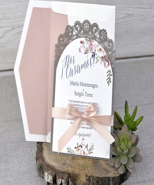 Invitatie de nunta cod 39326-2 din Catalogul Emma