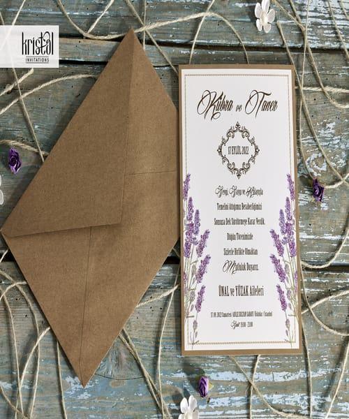 Invitatie de nunta cod 70231 din Catalogul Kristal Boutique