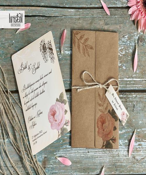Invitatie de nunta cod 70255 din Catalogul Kristal Boutique