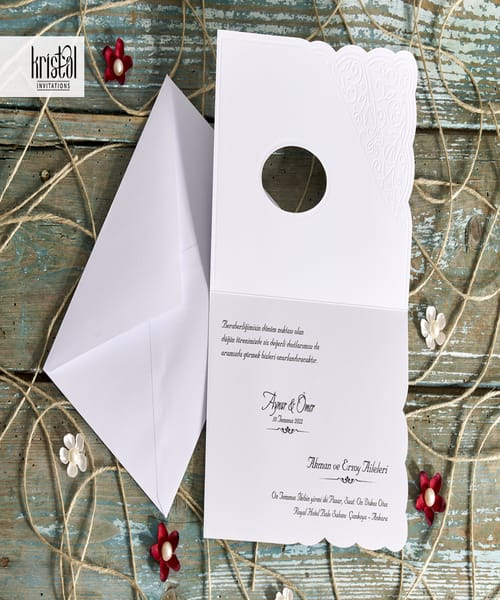 Invitatie de nunta cod 70286 din Catalogul Kristal Boutique