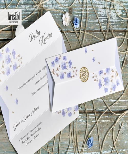 Invitatie de nunta cod 70319 din Catalogul Kristal Boutique