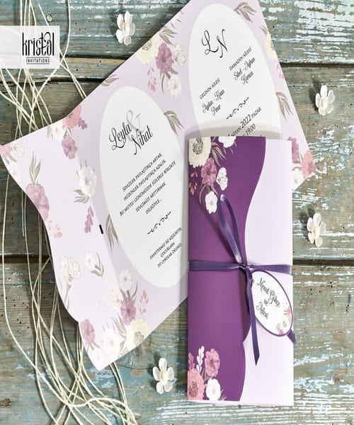 Invitatie de nunta cod 70341 din Catalogul Kristal Boutique
