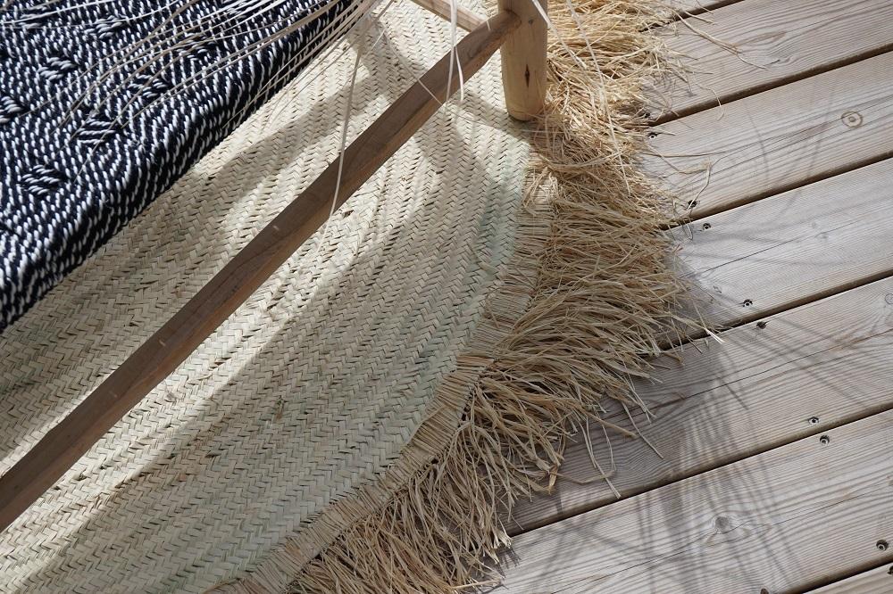 tapis jinen 130 cm diametre